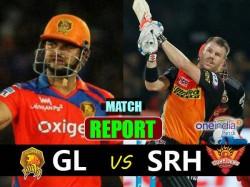 Ipl 2017 Live Sunrisers Hyderabad Vs Gujarat Lions