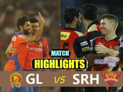 Ipl 2017 David Warner Guides Hyderabad 9 Wicket Win Over Gujarat