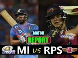 Ipl 2017 Match 2 Pune Supergiant Vs Mumbai Indians At P