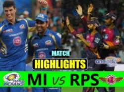 Ipl 2017 Match 2 Highlights Pune Vs Mumbai