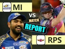 Ipl 201 Live Mumbai Indians Vs Pune Supergiants T20 Match 24th April Mumbai