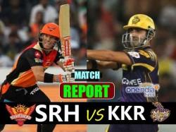 Ipl 2017 Kolkata Knight Riders Vs Sunrisers Hyderabad Match