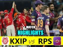 Ipl 2017 Match Highlights Kings Xi Punjab Vs Rising Pune At Indore