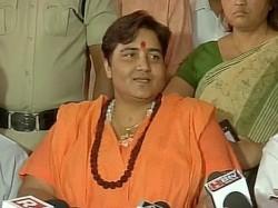 Pragya Thakur Say Congress Conspired Against Me