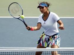 Sania Mirza Barbora Strycova Sail Enters Miami Open Doubles Final