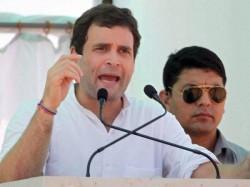 Rahul Gandhi To Address Tribals In Narmada District Dediapada
