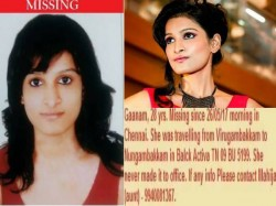 Chennai Model Gaanam Nair Also Known As Jikki Padhoo Is Miss Since Friday