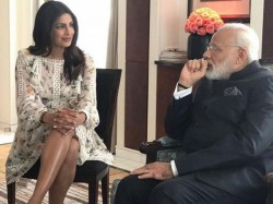Priyanka Chopra Trolled Showing Off Her Leg While Meeting Prime Minister Narendra Modi In Germa