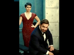 Aamir Khan Fatima Sana Shaikh Kissing Scene Thugs Of Hindostan