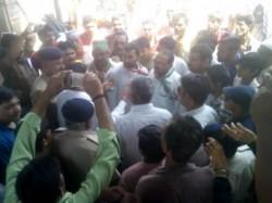 Rajkot Dhoraji Congress Protest Resolving Local Issues