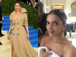 Met Gala 2017 Priyanka Chopra S Swag Outshines Deepika Padukone S Gorgeousness
