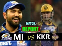 Ipl 2017kolkata Knight Riders Vs Mumbai Indians 54th Match L