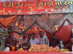Rajkot Health Department Raids At Mango Juice Parlor
