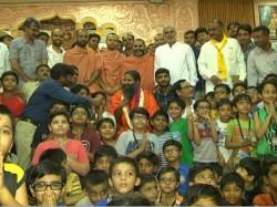 Baba Ramdev Met Gujarat Cm Vijay Rupani