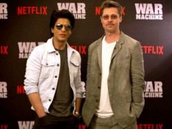 What Happened When Shahrukh Khan Brad Pitt Shared Stage Together Inside Detail Aslo See Picture