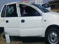 An Accident Occurred On Rajkot Ahmedabad Highway