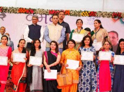 Guj Cm Dedicated The First Ever Women Industrial Zone The State
