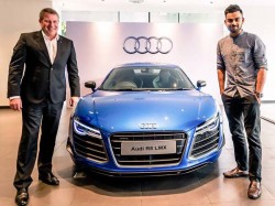 Audi Gifts Indian Cricket Team Captain Virat Kohli Brand New Q