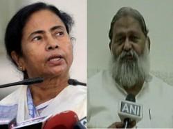 Haryana Minister Anil Vij Attack On Mamata Banerjee Remark
