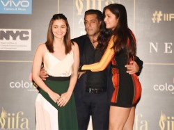 Katrina Kaif Flirts With Salman Khan Spotted At Iifa Press Meet Is She Faking It