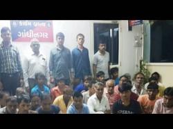Gandhinagar Crime Branch Raid 30 Gamblers Arrested