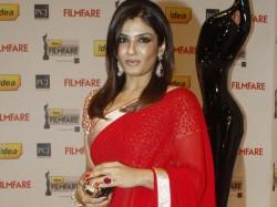 Will I Be Called Sanghi Wearing Saree Raveena Asks Twitter