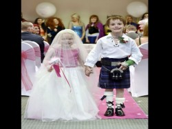 Terminally Ill Five Year Old Girl Ticks Fairytale Wedding Off Bucket Marrying Best Friend