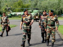 Army Chief General Bipin Rawat 7 Army Commanders Are Kashmir