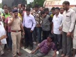 Valsad National Highway Accident Car Collided Other 5 Vehicles