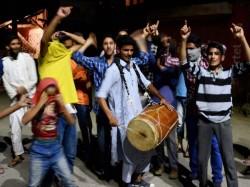 Youth Celebrated Winning Pak Champions Trophy