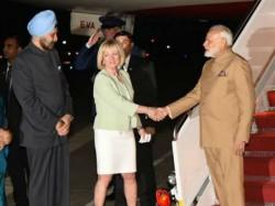 Pm Narendra Modi Reaches Washington Meet Us President Donald Trump