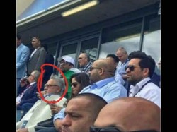 Vijay Mallya Spotted At India Pakistan Champions Trophy Game In Birmingham