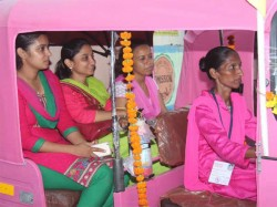 Pink Auto Service Ladies Surat