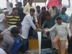 Alpesh Thakor Thakor Sena Protest Ahmedabad