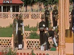 Kargil Vijay Divas Wreath Laying Ceremony At Dras War Memori