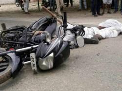 Dantiwada Two People Killed Accident Between Truck Bike