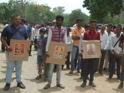 Amreli 200 Dalit Families Converted Buddhism Protest Custodial Death