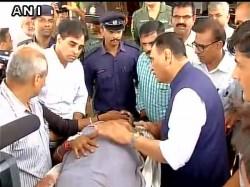 Surat Gujarat Cm Vijay Rupani Meets Amarnathyatra Pilgrims