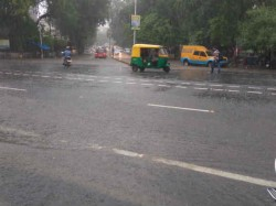 Heavy Rain Ahmedabad Potholes Make Situation Worse