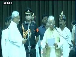 Nitish Kumar Take Oath As Bihar Cm Sushil Kumar Modi Deputy