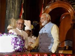 Fortunate That I Had Pranab Da Guide Me Modi