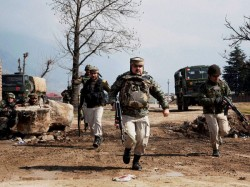 One Terrorist Has Been Gunned Down Security Forces Pulwama