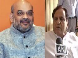 Gujarat Rajya Sabha Election Amit Shah Wins Seat But Loses Battle Of Prestige To Ahmed Patel