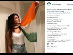 Priyanka Chopra Trolled Wearing Tricolor Dupatta