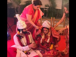 Actress Riya Sen Ties The Knot With Boyfriend Shivam Tivari