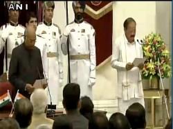 Oath Ceremony Of Vice President Designate M Venkaiah Naidu