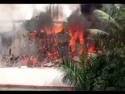 Fire Caught Mumbai Rk Studio