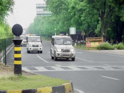 Secure Security Took Place On Gandhinagar Visit Narendra Mod