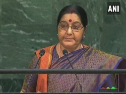 Sushma Swaraj Attack Pakistan In Un General Assembly Top 10 Points