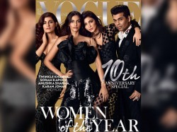 Celebs Sizzled Black Vogue S Anniversary Edition